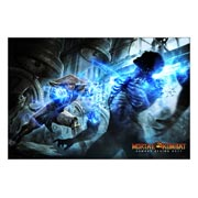 Mortal Kombat. Размер: 90 х 60 см